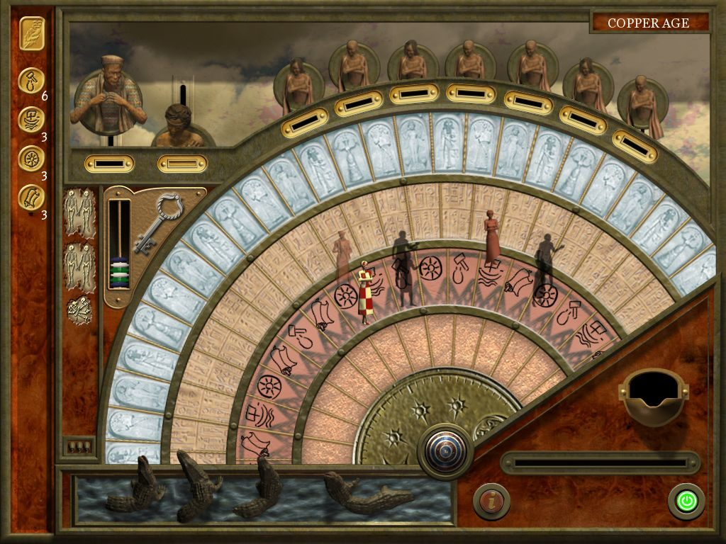 7 Grand Steps: a view of the main screen showing a complex slotmachine