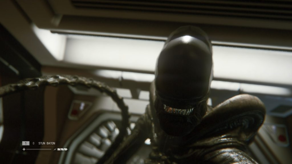 Alien Isolation: alien close up