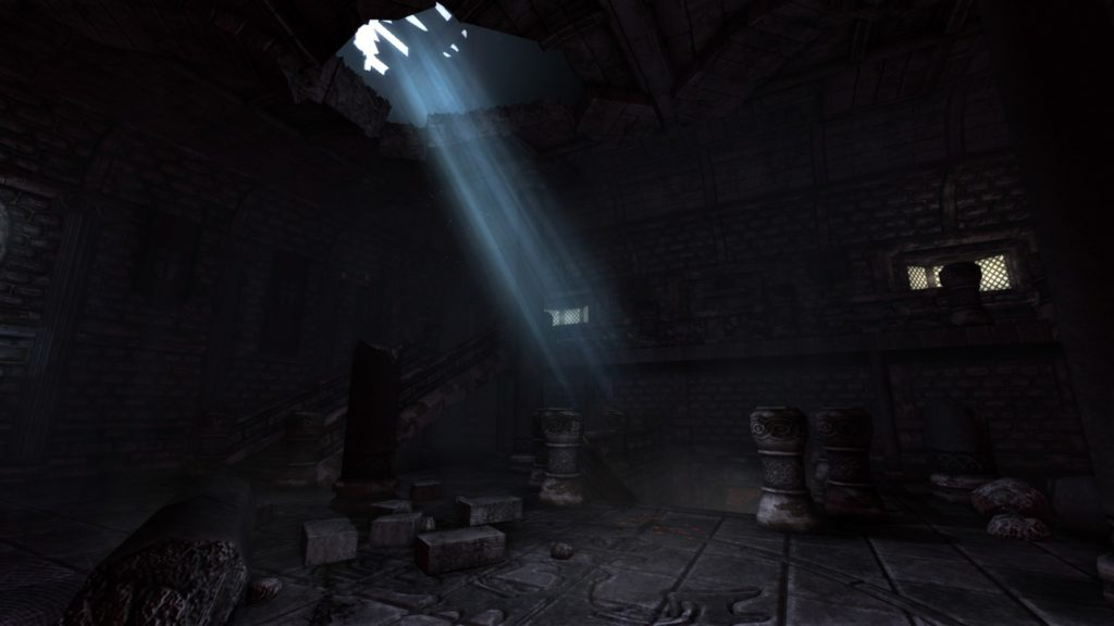 Amnesia: The Dark Descent: entrace hall castle brennenburg