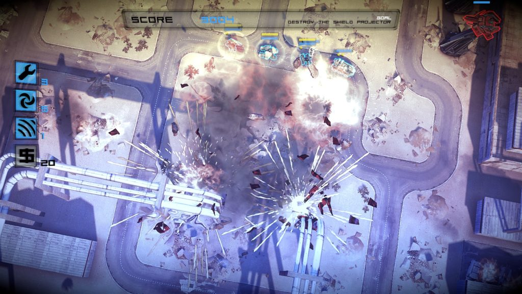 Anomaly: Warzone Earth: explosions!