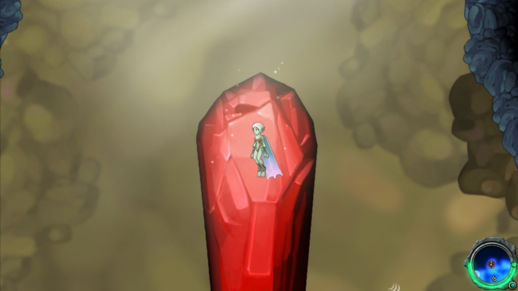 Aquaria: a red crystal