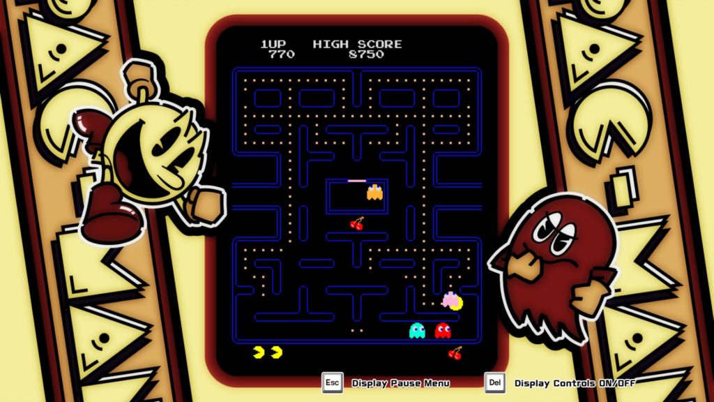 Arcade Game Series: Pac Man: player surrounded by monsters