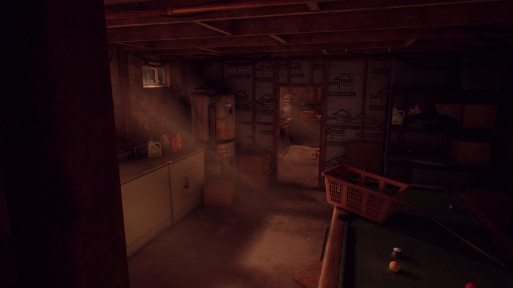 What Remains of Edith Finch: a view of a basement