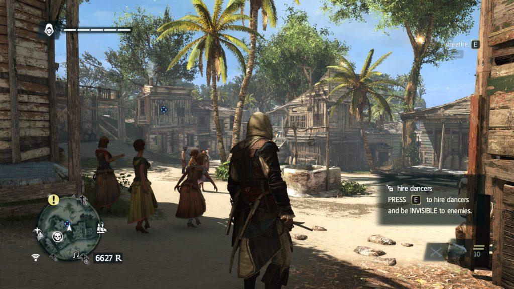 Assassin's Creed IV Black Flag: a screenshot