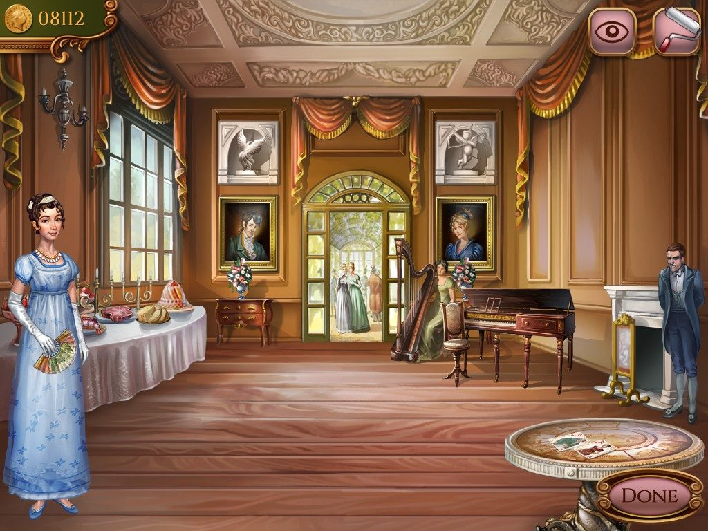 Regency Solitaire: the ballroom