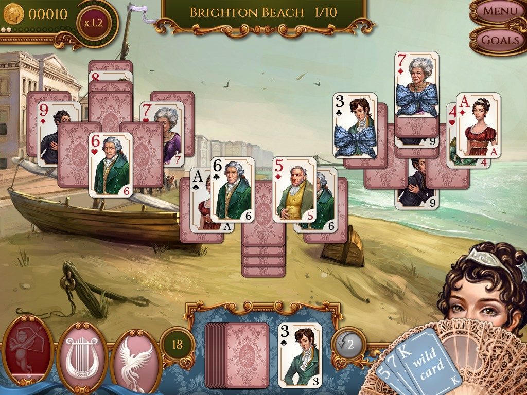 Regency Solitaire: the card game