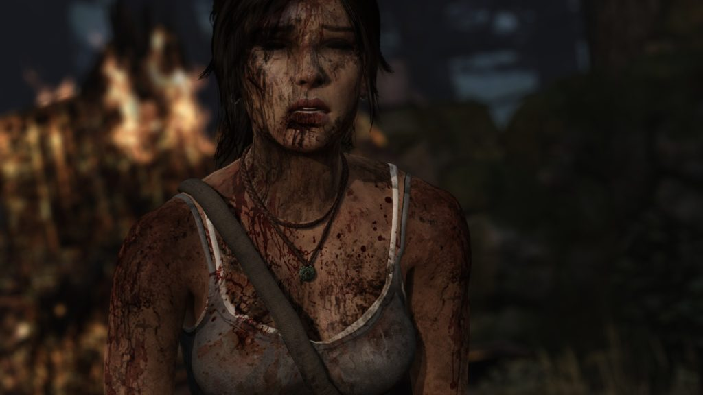 Tomb Raider: dirty Lara