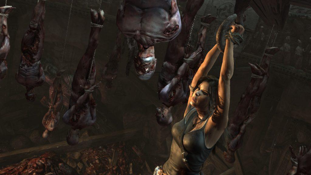 Tomb Raider: hanging around with corpses