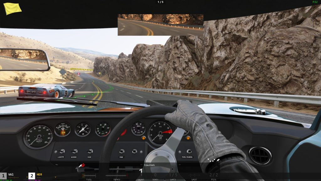 Assetto Corsa: Ford GT40 cockpit