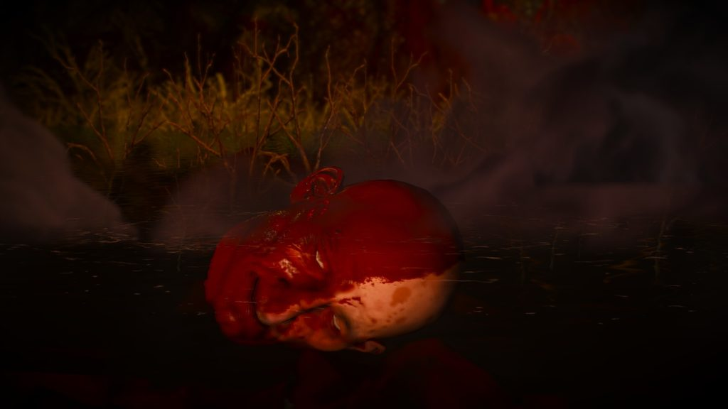 The Witcher 3: Wild Hunt: severed head