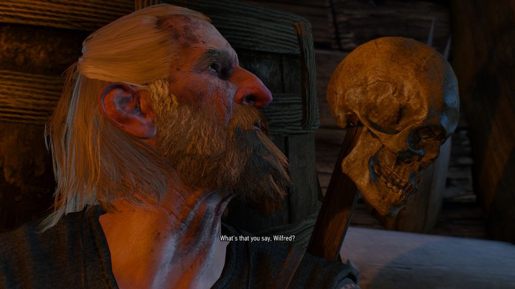 The Witcher 3: Wild Hunt: Wilfred is dead